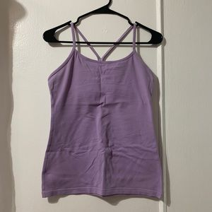 lululemon power Y, lavender size 8
